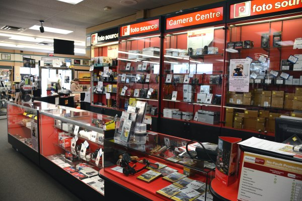 The interior of a Foto Source Store #cameras #lenses