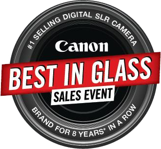 Canon Best in Glass Logo