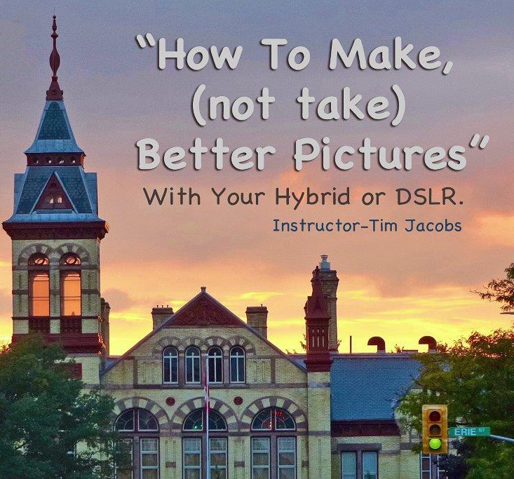 How To Make (Not Take) Better Pictures advertisement