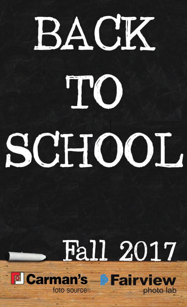 Back to School Flyer Cover