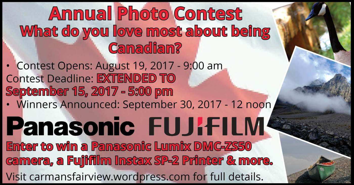 Advertisement for Photo Contest - Extended Deadline