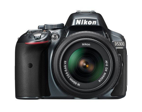Nikon D5300 with 18-55mm lens