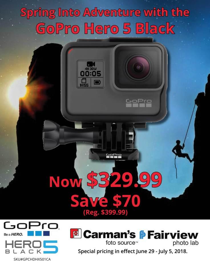2018 06 29 GoPro Hero 5 Sale Blog